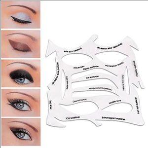 Make up stencil / eyeliner stencil